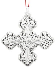 Reed & Barton Annual Cross Ornament 2016