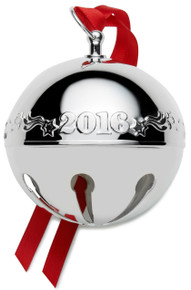 Wallace Annual Sleigh Bell Ornament 2016 - Silver Plate