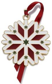 Wallace Annual Enamel Ornament 2016