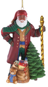 Lenox Annual Thomas Blackshear Santa Ornament 2016