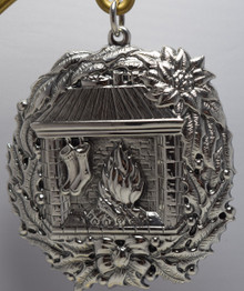 Buccellati Italy Annual Ornament 1994 - Fireplace