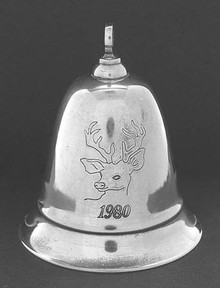 Kirk Stieff Annual Musical Bell Ornament 1980