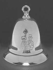 Kirk Stieff Annual Musical Bell Ornament 1982
