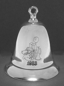 Kirk Stieff Annual Musical Bell Ornament 1983
