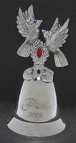 Kirk Stieff Annual Musical Bell Ornament 2002