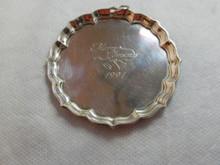 Kirk Stieff Williamsburg Plate/Tray Ornament 1991
