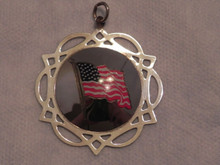 Lunt Enamel United We Stand Ornament 2002
