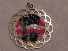 Lunt Enamel United We Stand Ornament 2003