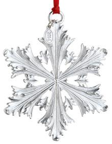 Reed & Barton Annual Silver Plate Snowflake Ornament 2014