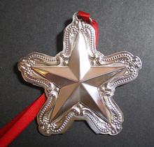 Towle Annual Star Ornament 2000