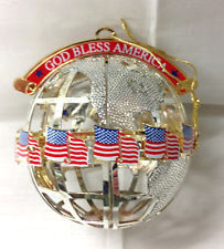 Wallace God Bless America Ball Ornament