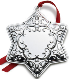 Wallace Annual Engravable Ornament 2013