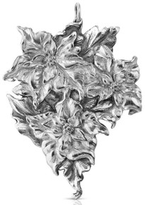 Buccellati Italy Annual Ornament 2016 - Poinsettia
