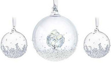 Swarovski Annual Ball Set of 3 Ornaments 2016