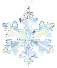 Swarovski 25th Anniversary Limited Edition Snowflake Ornament 2016