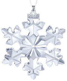Swarovski Annual Snowflake Ornament 2016 - Large