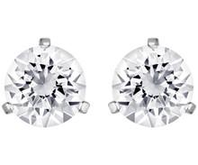 Swarovski Solitaire Stud Pierced Earrings Pair