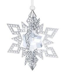 Swarovski Silver Tone Star Ornament