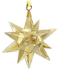 Swarovski Gold Star Ornament