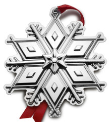 Tuttle Annual Snowflake Ornament 2017