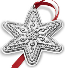 Towle Annual Star Ornament 2017