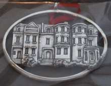 Hand and Hammer Richmond Rowhouses Ornament