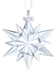 Swarovski Annual Large Snowflake Ornament 2017