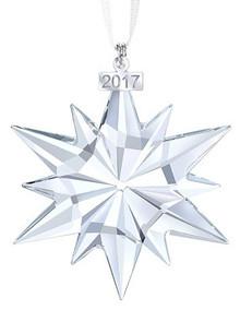 Swarovski Annual Large Snowflake Ornament 2017