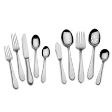 Towle Boston Antique 45pc 18/10 Stainless Steel Flatware Set