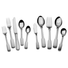 Towle Hammersmith 45pc 18/10 Stainless Steel Flatware Set