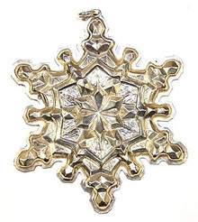Gorham Annual Snowflake Ornament 1971