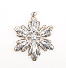 Gorham Annual Snowflake Ornament 1974