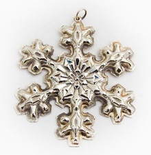Gorham Annual Snowflake Ornament 1976