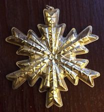 Gorham Annual Snowflake Ornament 1978