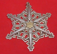 Gorham Annual Snowflake Ornament 1983
