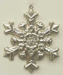 Gorham Annual Snowflake Ornament 1985