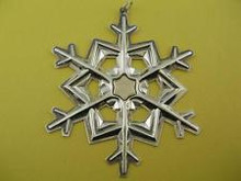 Gorham Annual Snowflake Ornament 1989