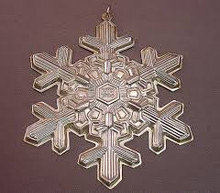Gorham Annual Snowflake Ornament 1994