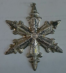 Gorham Annual Snowflake Ornament 1996
