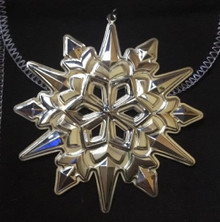Gorham Annual Snowflake Ornament 2004