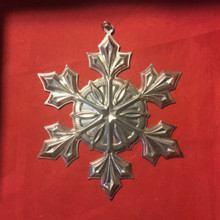 Gorham Annual Snowflake Ornament 2007