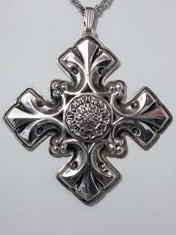 Reed & Barton Annual Cross Ornament 1976 - No Box
