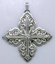 Reed & Barton Annual Cross Ornament 1978 - No Box
