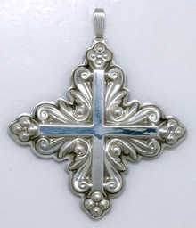 Reed & Barton Annual Cross Ornament 1983 - No Box
