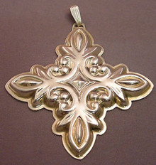 Reed & Barton Annual Cross Ornament 1987