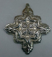 Reed & Barton Annual Cross Ornament 1993