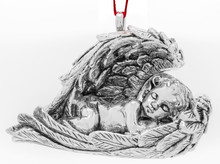 Barrett + Cornwall Annual Galvanized Cherub Ornament 2018 - 1st Edition