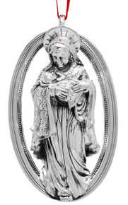 Barrett + Cornwall Annual Ornament 2018 - Madonna and Child