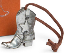 Danforth Cowboy Boot Ornament - Liberty