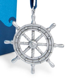 Danforth Captain's Wheel Ornament